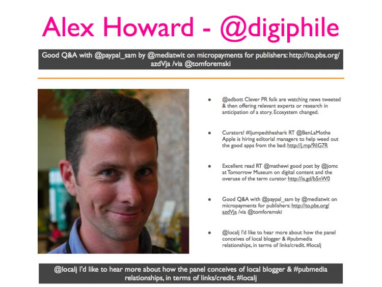Alex Howard - Digiphile