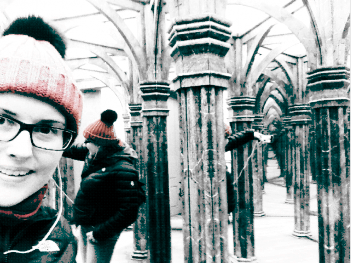 manipulated pic of me in prage