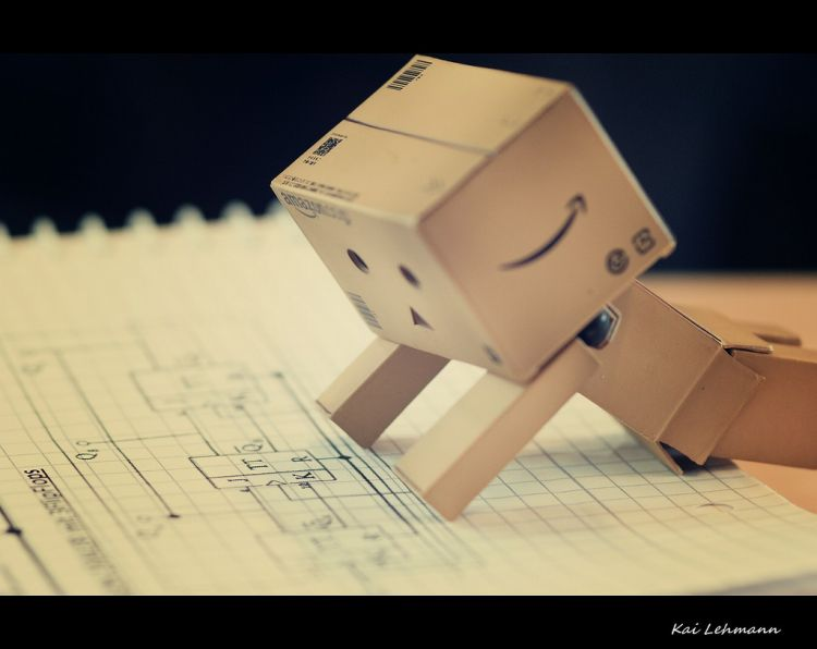 Danbo likes to learn