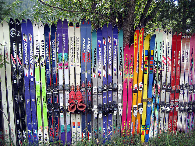 Hopeless Repurposing of Old Skis, Part I