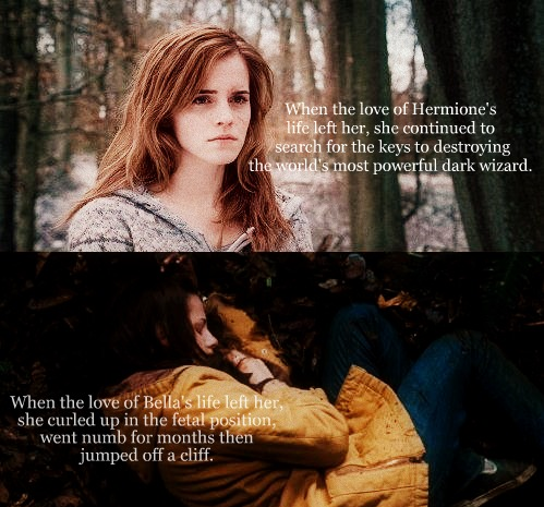 Hermione vs Bella