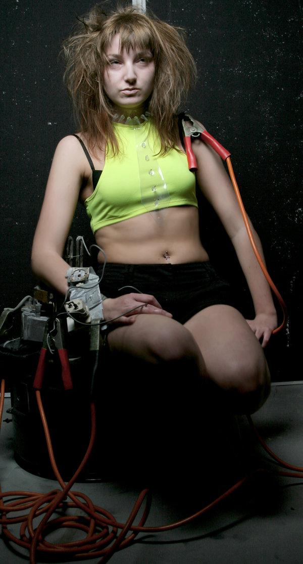 robot girl 01