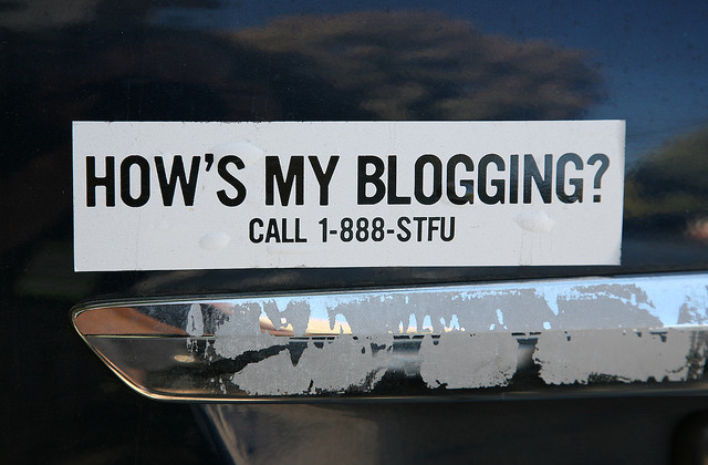 how's my blogging